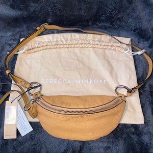 ✨NWT✨REBECCA MINKOFF Mini Bree Leather Belt Bag